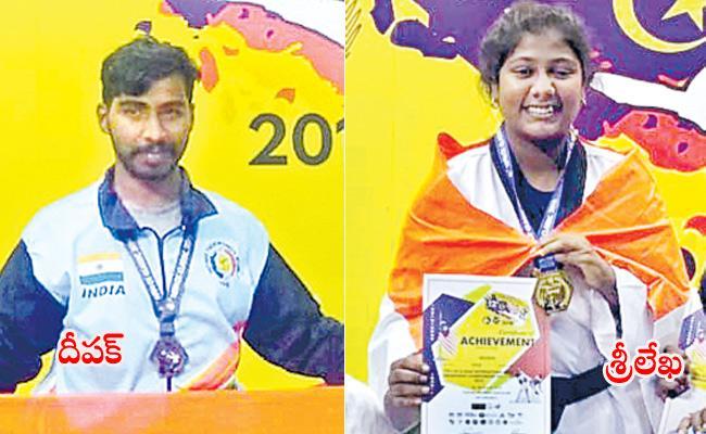 Telangna Taekwondo Team wins 5 Medals - Sakshi