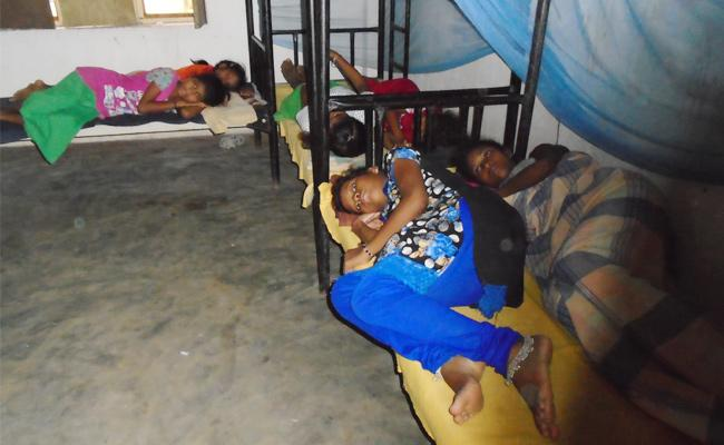 Ashram Girls Suffering With Fever In Vizianagaram - Sakshi