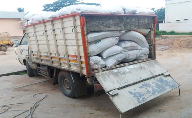 Ration Rice Smuggling From Telangana - Sakshi