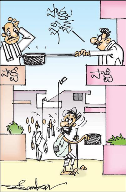 saskhi cartoon(04-09-2018) - Sakshi
