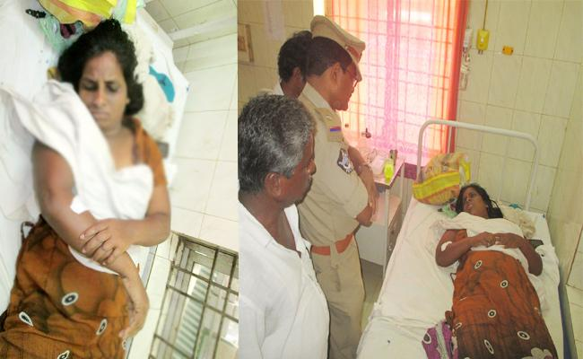 TDP MPTC Attack On Dalit Woman In Srikakulam - Sakshi