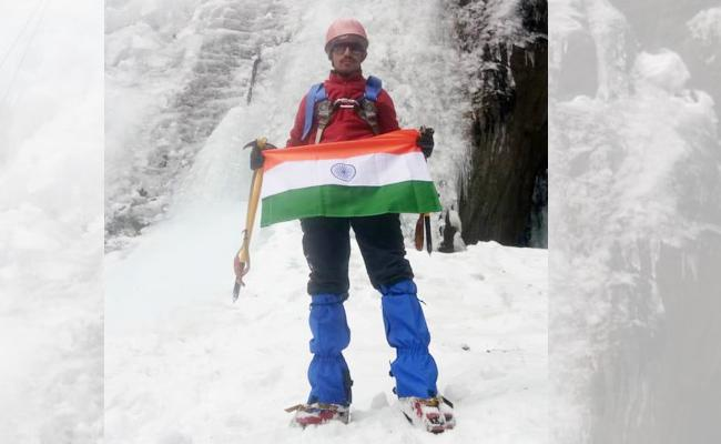 Dhanunjaya Goud Select For Kilimanjaro Trecking - Sakshi