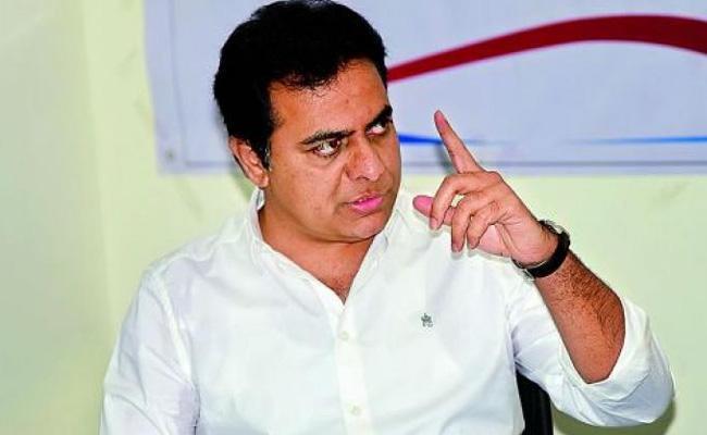 Minister KTR Fires On Congress Leaders - Sakshi