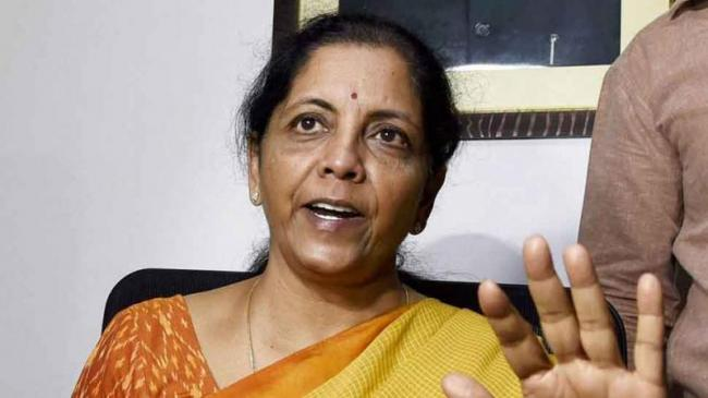 Congress Says Nirmala Sitharaman Being Made The Scapegoat - Sakshi
