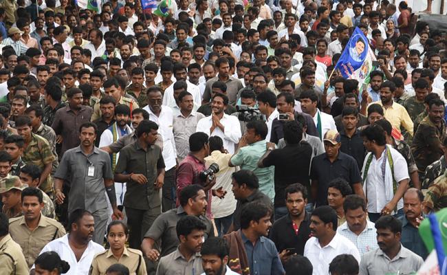 YS Jagan Praja Sankalpa Yatra 255th Day Schedule Released - Sakshi