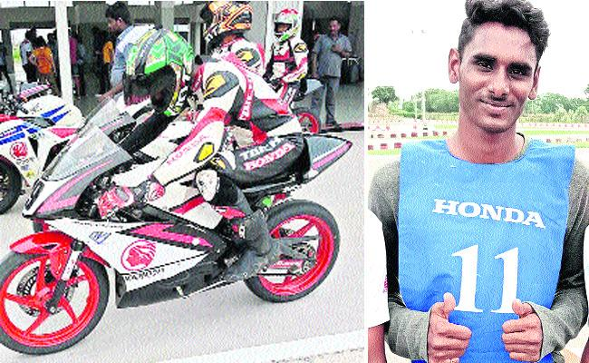 West Godavari Young Man Select For Bike Racing - Sakshi