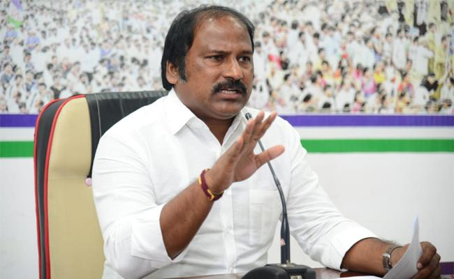 TJR Sudhakar Babu Fires On Chandra Babu In Vijayawada - Sakshi