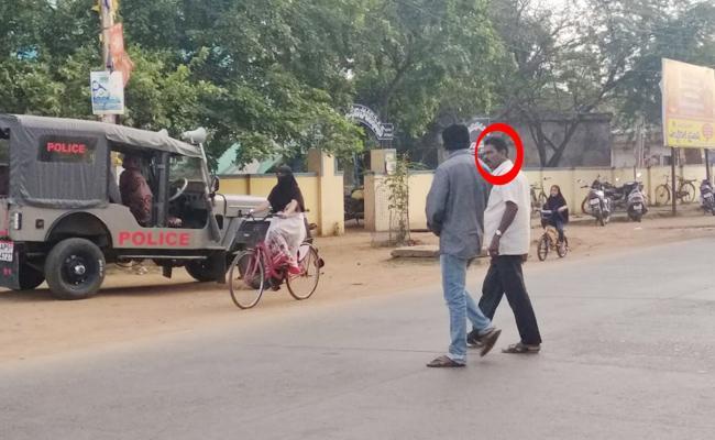 Police Support To Molestation Accused Teacher In Prakasam - Sakshi