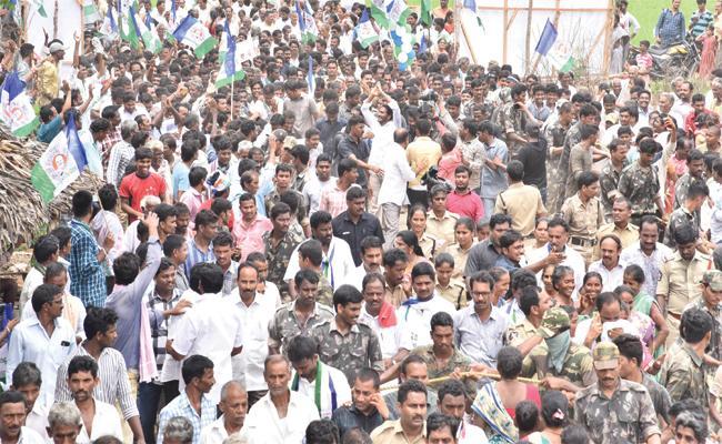People Sharing Their Problem To YS Jagan - Sakshi