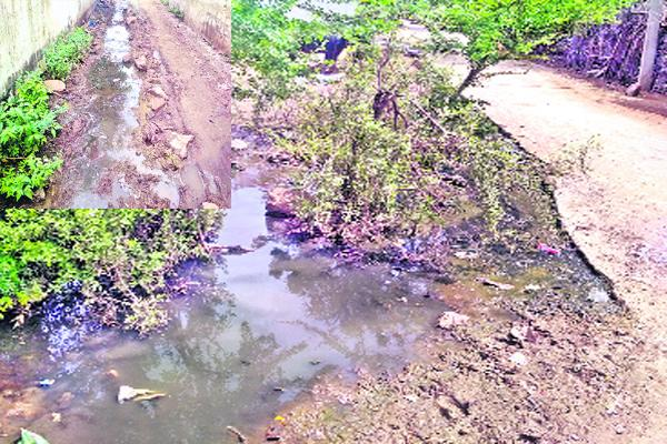 Worst Drainage System Problems In Khammam - Sakshi