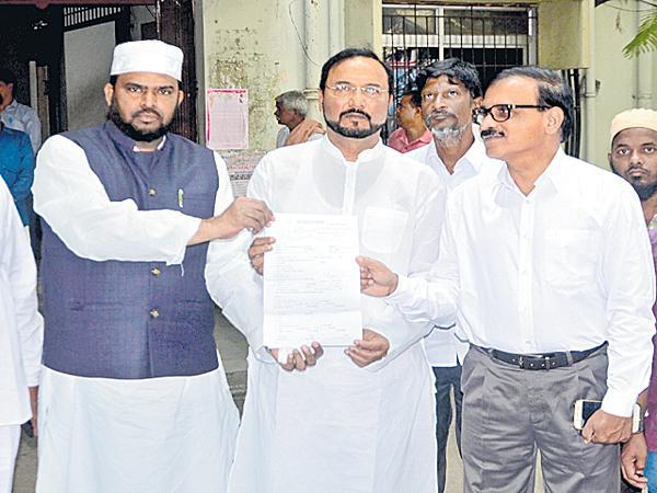 HRC asked Report on the incident at Guntur - Sakshi