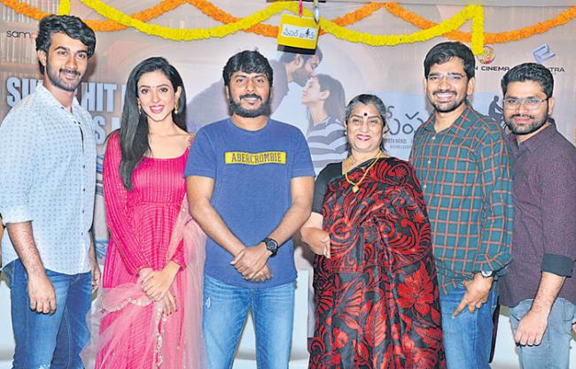 paperboy movie success meet - Sakshi