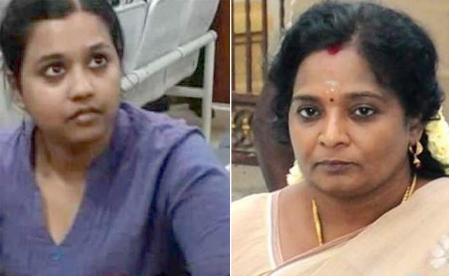Sofia Vs Tamilisai In Tamil Nadu - Sakshi