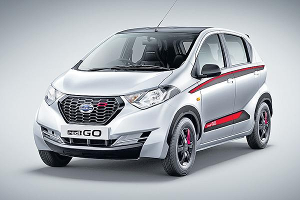 Datsun Redigo limited edition launched at Rs 3.58 lakh - Sakshi