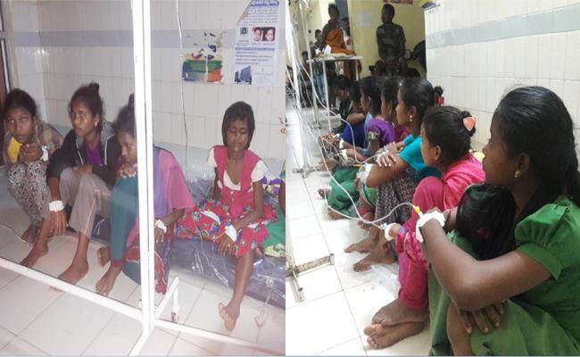 Officials And Hospital Staff Negligence On Ashram School Girls - Sakshi