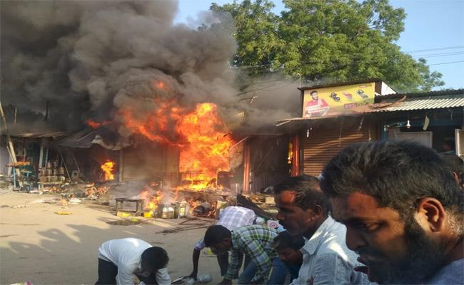 Gas Cylinder Blast In Nizamabad - Sakshi