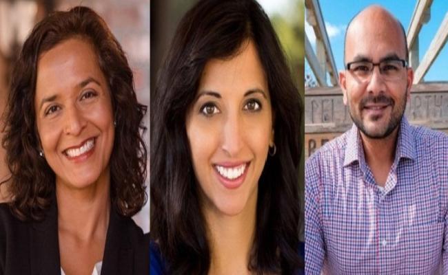 Three Indian Americans Won In American Congress Primary Polls - Sakshi