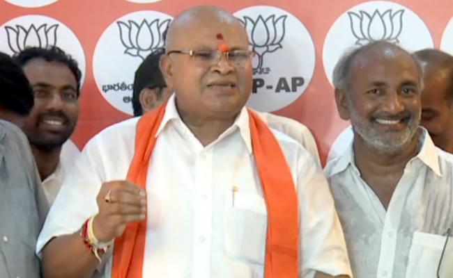 BJP AP Chief Kanna Laxminarayana Slams Chandrababu Through Letter - Sakshi