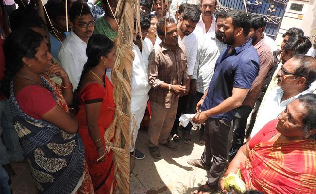 MLA Anil Kumar Yadav Slams Chandrababu Naidu - Sakshi
