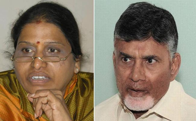 Pratibha Bharati Meets CM Chandrababu over Kondru murali Joining - Sakshi