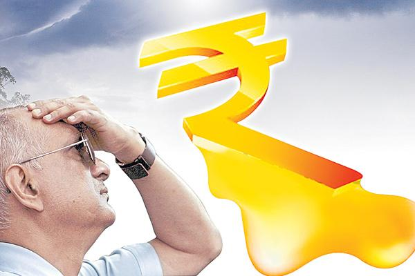 Rupee Extends Fall To Fifth Day - Sakshi