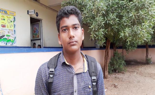 Principal Beaten Student In YSR Kadapa - Sakshi