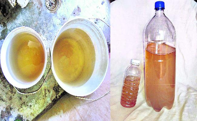 Water Problems In PSR Nellore - Sakshi