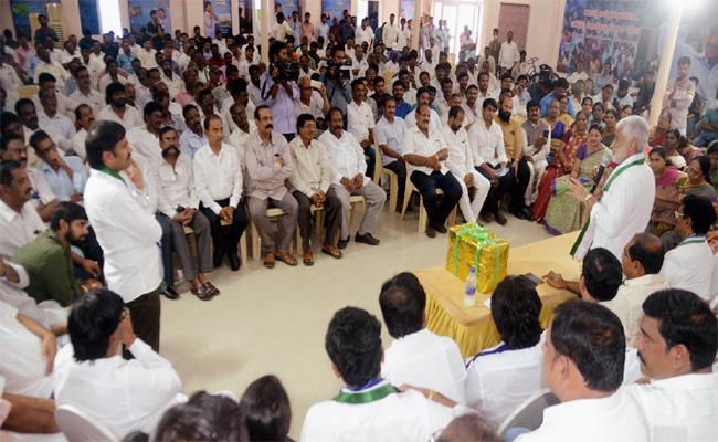 Praja Sankalpa Yatra public meeting In Visakhapatnam - Sakshi