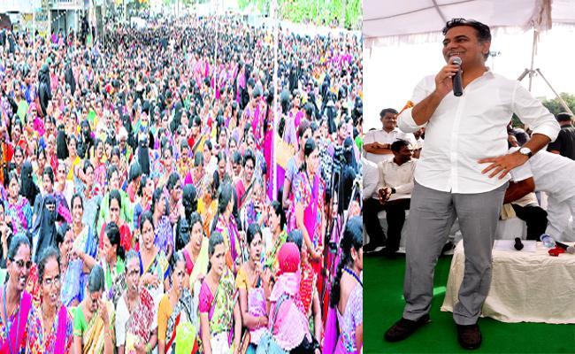 KTR Criticize On Congress Leaders Mahabubnagar - Sakshi