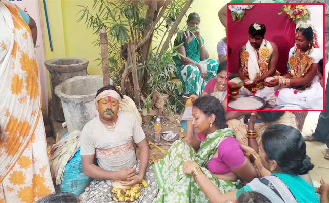 Groom Died With Viral Fever In Vizianagaram - Sakshi
