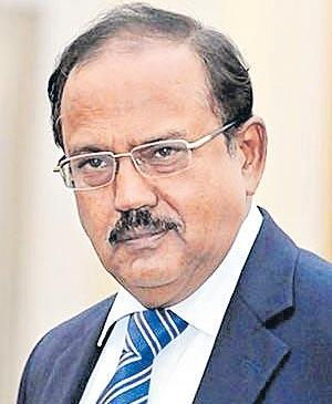 Controversy Over Ajit Doval's Jammu and Kashmir Constitution Remark - Sakshi