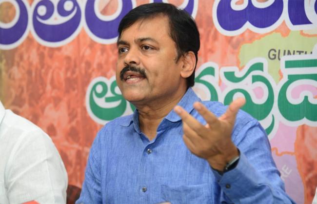 GVL Narasimha Rao Slams Chandrababu In Vijayawada - Sakshi