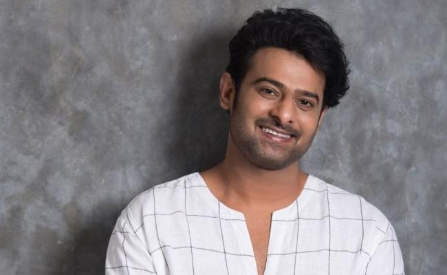Prabhas Confirms His Next Film After Saaho - Sakshi