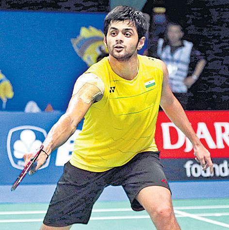 Hyderabad Open badminton: Sai Praneeth, Lakshya Sen knocked out in second  - Sakshi