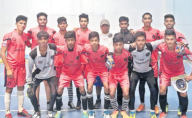 Telangana gets Second Victory in Football Championship   - Sakshi