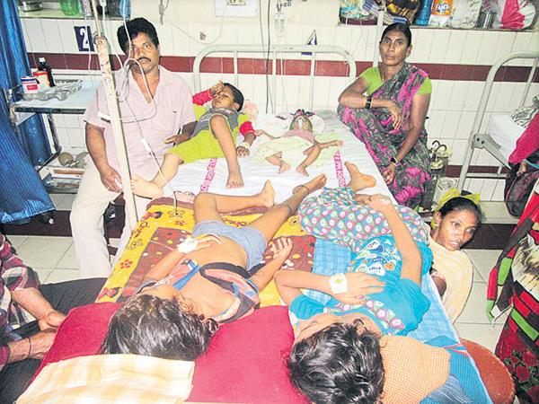 People suffering with Toxic fevers - Sakshi
