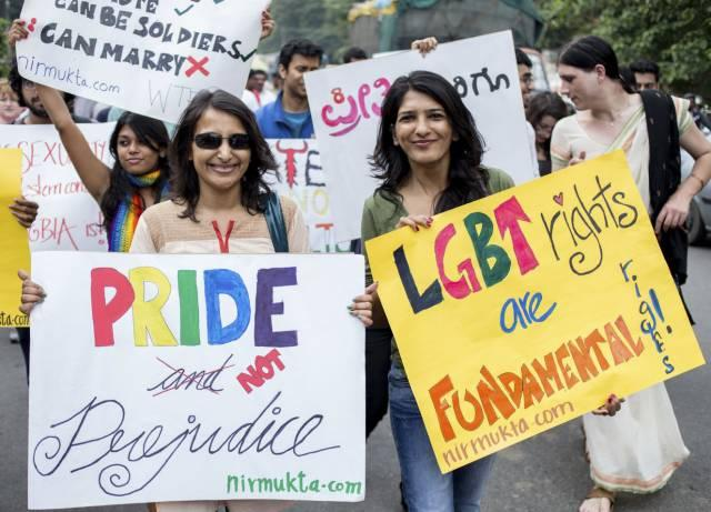 Homosexuality no longer Crime in India, Supreme Court ends controversial Section 377 - Sakshi