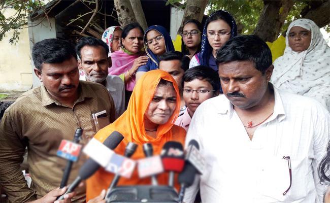 Vizianagaram Bride Press meet On Husband Suicide Case - Sakshi