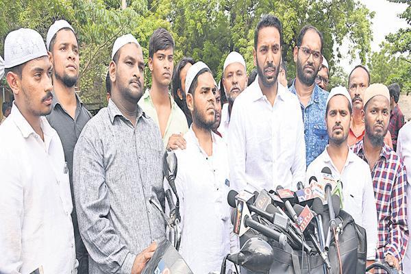 Nandyal Muslim Youth Fires On TDP Government - Sakshi