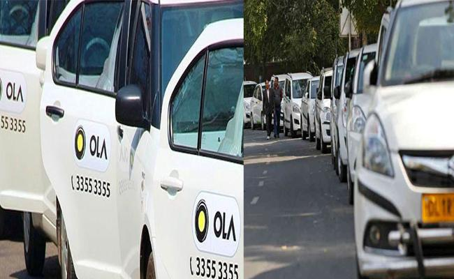 Pollution And Traffic Problems Arising Due To Cab Services - Sakshi