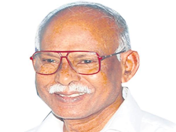 YSR uncle and former MLA Purushotham Reddy passes away - Sakshi