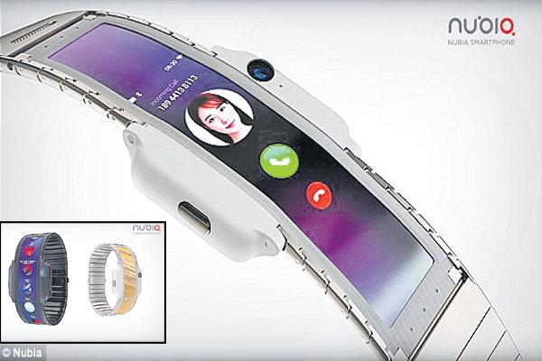 Smartphone and smartwatch from China Nubia Company - Sakshi