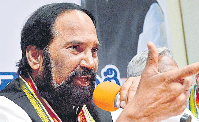 Uttam Kumar Reddy Released Congress Manifesto - Sakshi