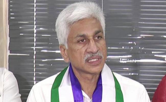 YSRCP MP Vijayasai Reddy Slams TDP Government In Visakapatnam - Sakshi