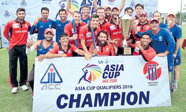 Hong Kong in the Asia Cup - Sakshi