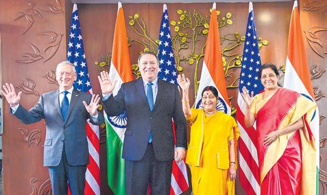 No decision on S-400 as US, India sign key defense agreement - Sakshi