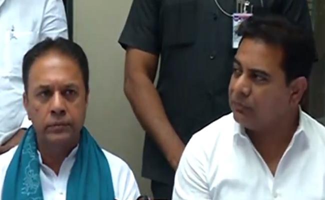 Ex Speaker Suresh Reddy Joins Trs - Sakshi