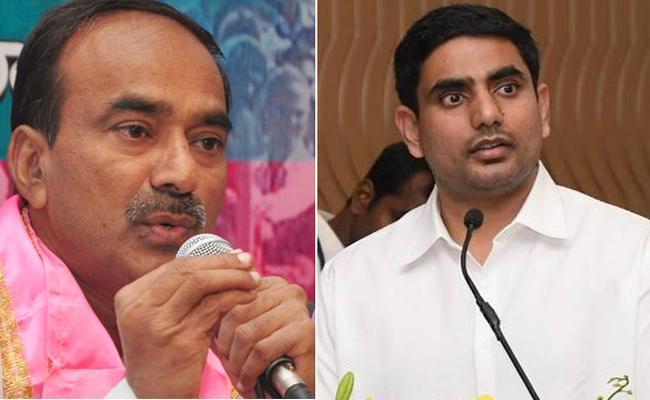 Etela Rajender Fire On Lokesh Over Comments On KCR - Sakshi