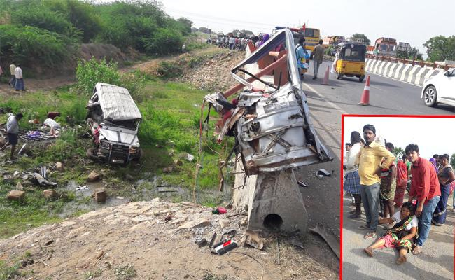 Road Accident In YSR Kadapa - Sakshi