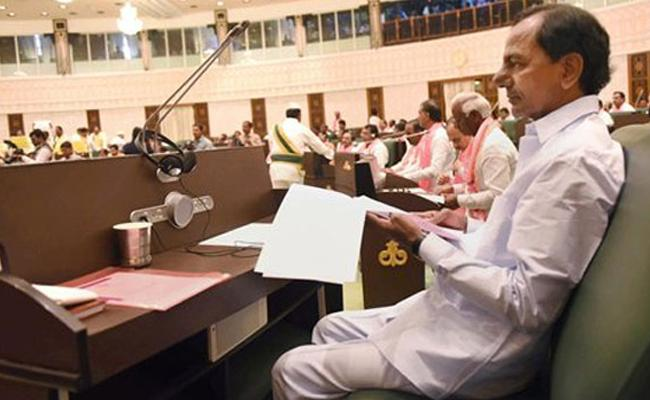 Details Of Telangana Assembly Sessions From TRS Government Formed - Sakshi